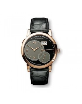 Replica A.Lange & Sohne Grand Lange 1 Black Dial 42mm Mens Watch