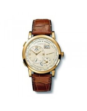Replica A.Lange & Sohne Lange 1 Timezone Yellow Gold 42mm Mens Watch