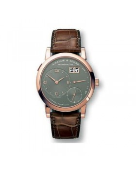 Replica A.Lange & Sohne Lange 1 Gray Dial Rose Gold 38mm Mens Watch