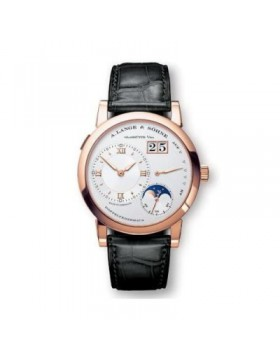 Replica A.Lange & Sohne Lange 1 Manual Wind Silver Dial 38mm Mens Watch
