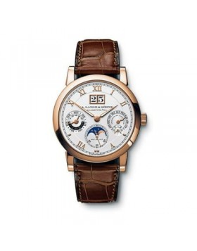 Replica A.Lange & Sohne Langematik Automatic Silver Dial 38mm Mens Watch