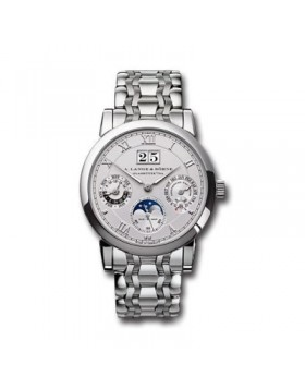 Replica A.Lange & Sohne Langematik Silver Dial 38mm Mens Watch