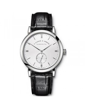 Replica A.Lange & Sohne Saxonia Manual Wind Silver Dial 37mm Mens Watch