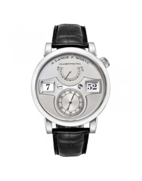 Replica A.Lange & Sohne Zeitwerk Manual Wind Silver Dial 42mm Mens Watch