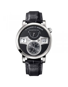 Replica A.Lange & Sohne Zeitwerk Black Dial 42mm Mens Watch