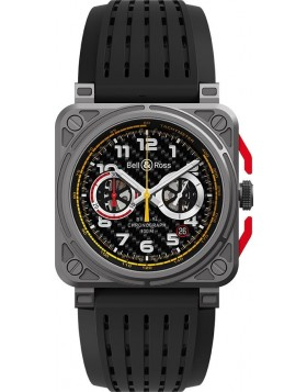 Bell & Ross Aviation Instruments Chronograph 42mm Mens Watch Replica