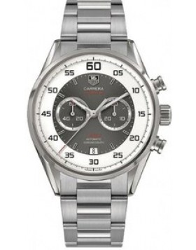 Fake TAG Heuer Carrera Calibre 36 Flyback Chronograph Grey Dial Mens Watch