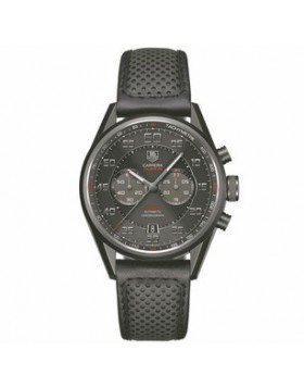 Fake TAG Heuer Carrera Automatic Calibre 36 Black Dial Titanium Mens Watch