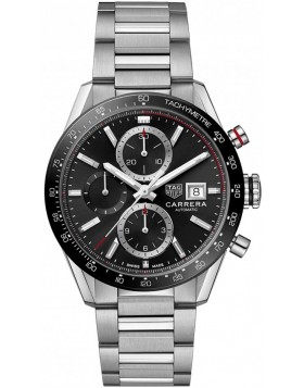 TAG Heuer Carrera Calibre 16 Chronograph Black Dial Chronograph