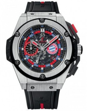 Fake Hublot King Power Bayern Munich Mens Watch 716.NX.1129.RX.BYM12