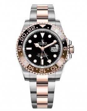 Rolex GMT-Master II 40mm Everose Gold Replica