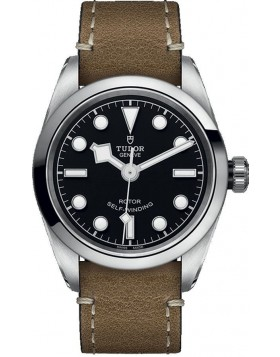 Tudor Heritage Black Bay 32 Black Dial Watch Replica