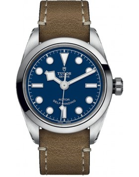 Tudor Heritage Black Bay 32 Blue Dial Ladies Watch Replica
