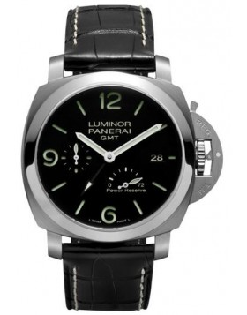 Popular Replica Panerai Luminor 1950 3 Days GMT Power Reserve Automatic Acciaio 44mm PAM00321