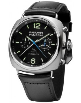 Popular Replica Panerai Radiomir Regatta One Eighth Second Titanium Mens Watch PAM00343