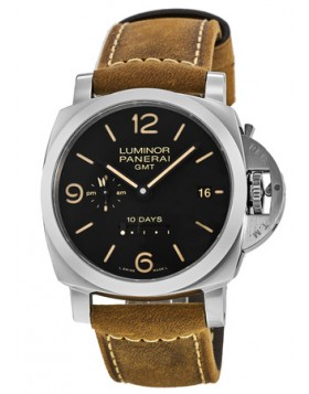 Popular Replica Panerai Luminor 1950 10 Days GMT Automatic 44mm Mens Watch PAM00533