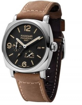 Popular Replica Panerai Radiomir 1940 3 Days GMT Power Reserve Automatic Acciaio PAM00658