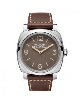 Popular Replica Panerai Radiomir 1940 3 Days Acciaio Brown Dial Mens Watch PAM00662