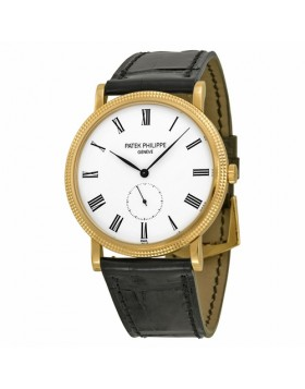 Replica Patek Philippe Calatrava Mechanical Enamel Dial Mens Watch