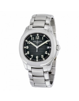 Replica Patek Philippe Aquanaut Black Dial Automatic Mens Watch