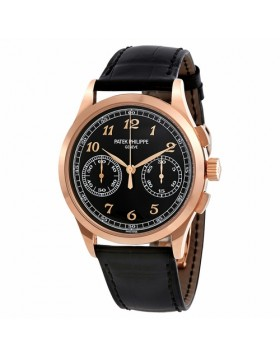 Replica Patek Philippe Complications Chronograph Rose Gold Mens Watch