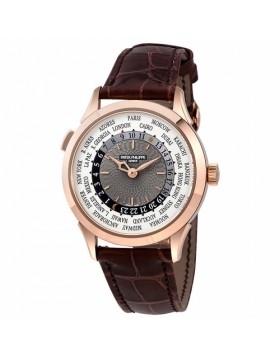 Replica Patek Philippe Complications Automatic World Time Gold Mens Watch