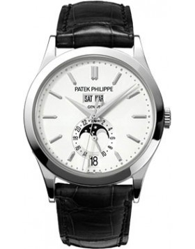 Replica Patek Philippe Grand Complications Silvery Opaline Mens Watch