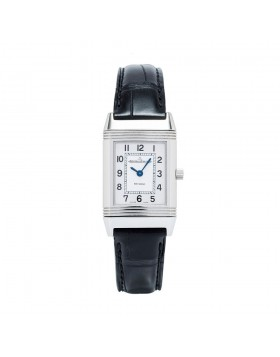Jaeger-LeCoultre Reverso Manual Steel Silver Dial Ladies Watch Replica