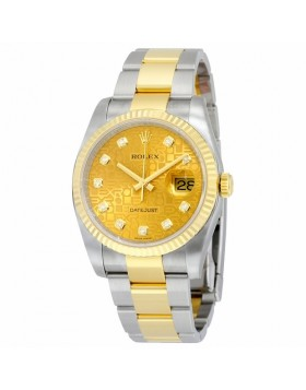 Rolex Datejust 36 Champagne Jubilee Dial Automatic Mens Watch Fake
