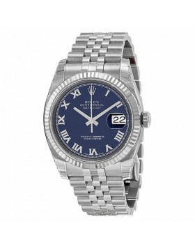 Rolex Datejust 36 Blue Dial Automatic Mens Watch Fake
