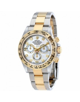 Rolex Cosmograph Daytona Mother of Pearl Chronograph Automatic Mens Watch Fake