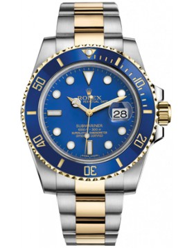 Rolex Submariner Blue Dial Mens Watch Fake