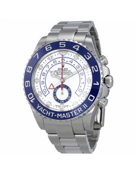 Rolex Yacht-Master II White Dial Chronograph Automatic Mens Watch Fake