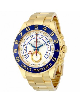 Rolex Yacht-Master II White Dial Automatic Chronograph Mens Watch Fake