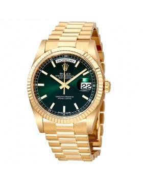 Rolex Day-Date 36mm Champagne Dial Unisex Automatic Watch Fake