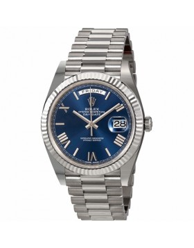 Rolex Day-Date 40 Blue Dial Automatic Mens Watch Fake