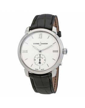 Replica Ulysse Nardin Classico Automatic Stainless Steel Silver Dial Mens Watch