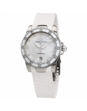 Replica Ulysse Nardin Lady Marine Diver Mother of Pearl Dial Ladies Watch
