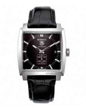 Fake TAG Heuer Monaco Automatic Black Dial Date Mens Watch